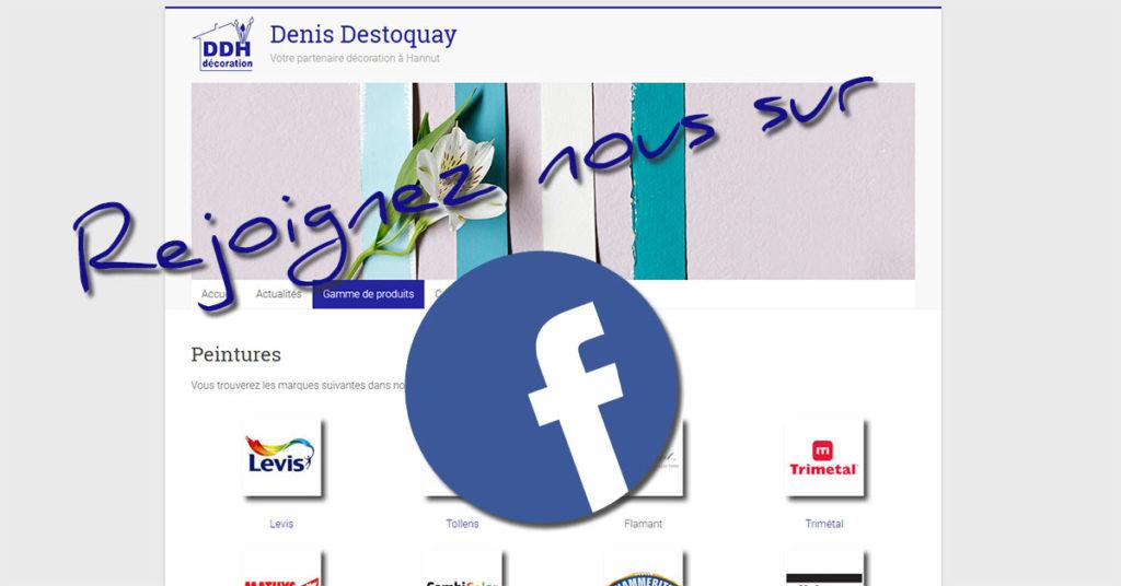 Lancement de la page Facebook pour le magasin Destoquay