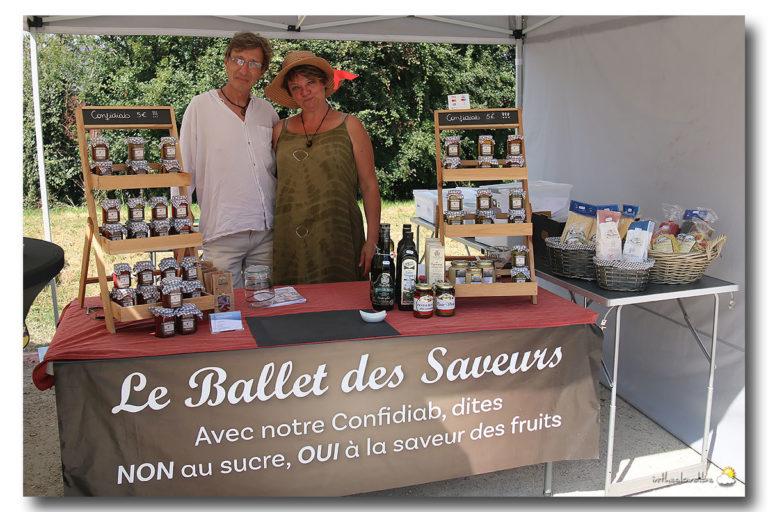 Nouveau webshop pour le Ballet des Saveurs à Fallais !