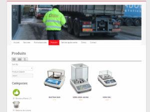 Nouveau site web pour Pesage Warnier