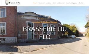 Nouveau site web pour la brasserie du Flo à Blehen (Hannut)